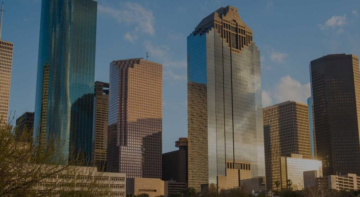 Houston Business Litigation Lawyers Banner Background