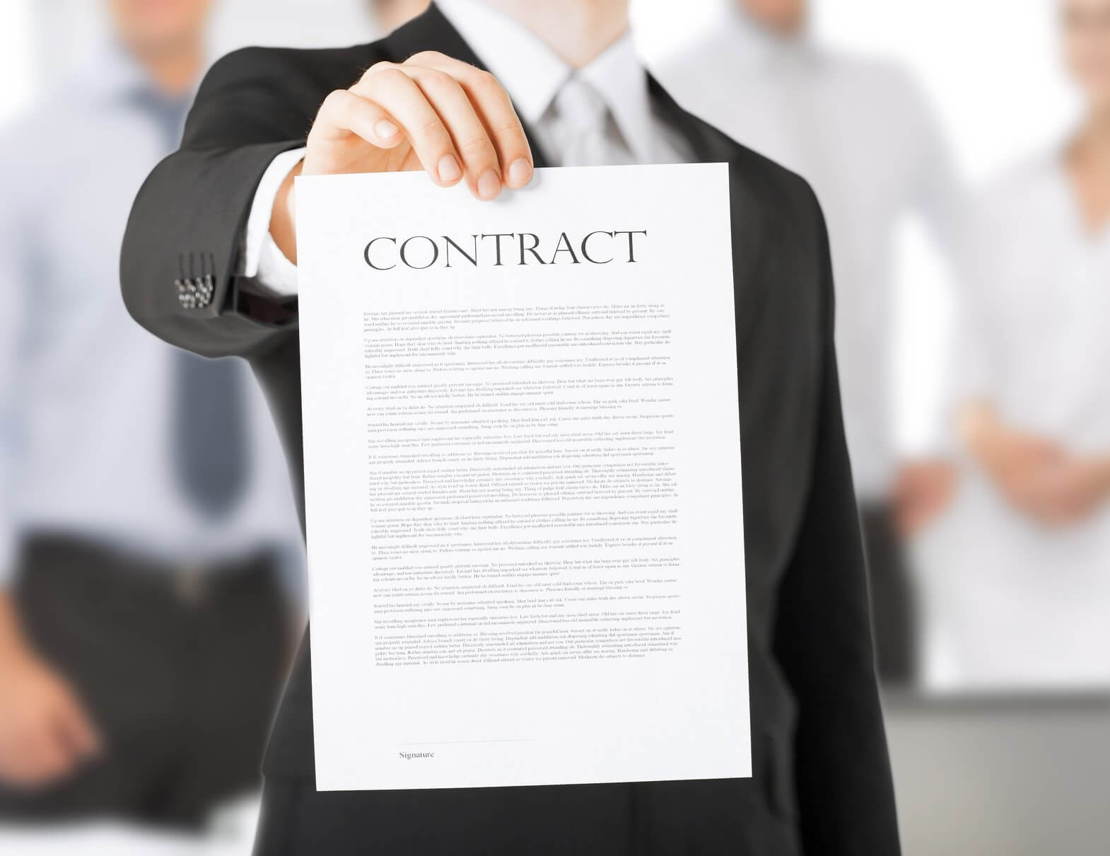 What Makes A Contract? Breach Of Contract